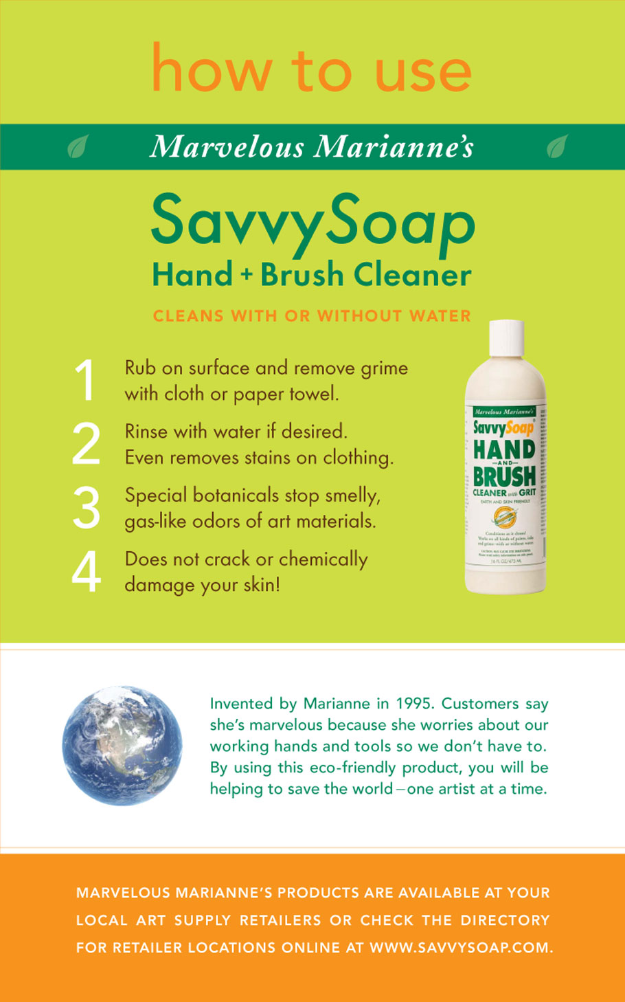 savvysoap how to list